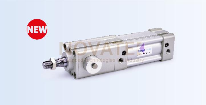 Стандартный цилиндр c пневматическим/механическим cтопором BSAI серия
