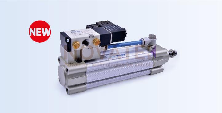 Стандартный цилиндр c клапаном SAIF серия